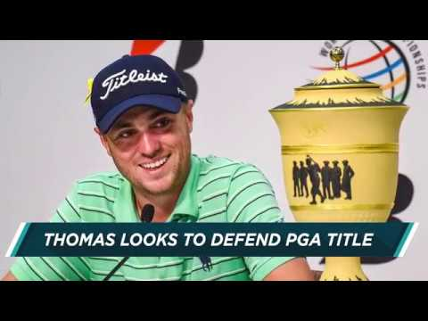 Justin Thomas out to defend PGA Championship title