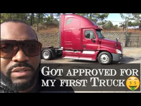 Got approved for my first truck 🤑 !!! #CEOLifestyle. Ep 2