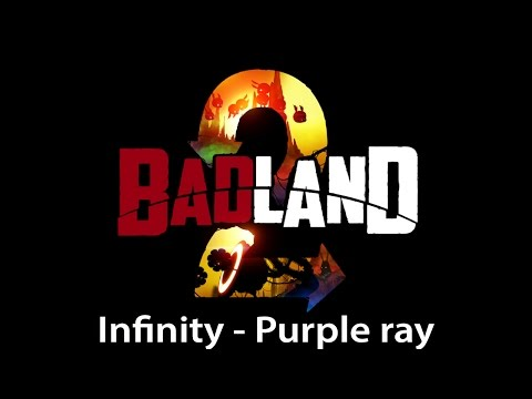 Badland 2 Infinity (Unendlichkeit) - Purple ray (Lila Strahl) 3 stars walkthrough [HD]
