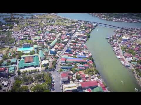 Aerial Video of Dagupan City