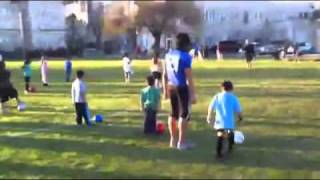 OLLU Soccer - YWCA Service Project