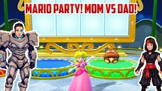 MARIO PARTY! Mom Vs Dad | Nintendo Switch