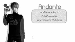 【Thai Sub + Karaoke】:: Super Junior - Andante :: ♥ ~