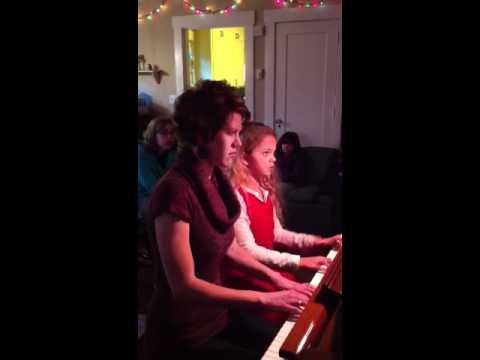 Yasmine Wyatt duet piano Brooke Baker