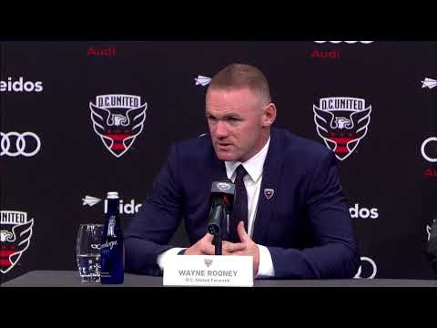 Wayne Rooney First Press Conference with D.C. United