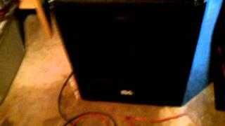seismic audio sub-woofer 18