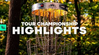MOST IMPRESSIVE shots from the 2020 Disc Golf Pro Tour Championship | Jomez Disc Golf
