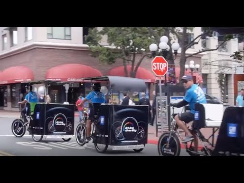 Let VIP Pedicabs Promote Your Business At The San Diego Convention Center
