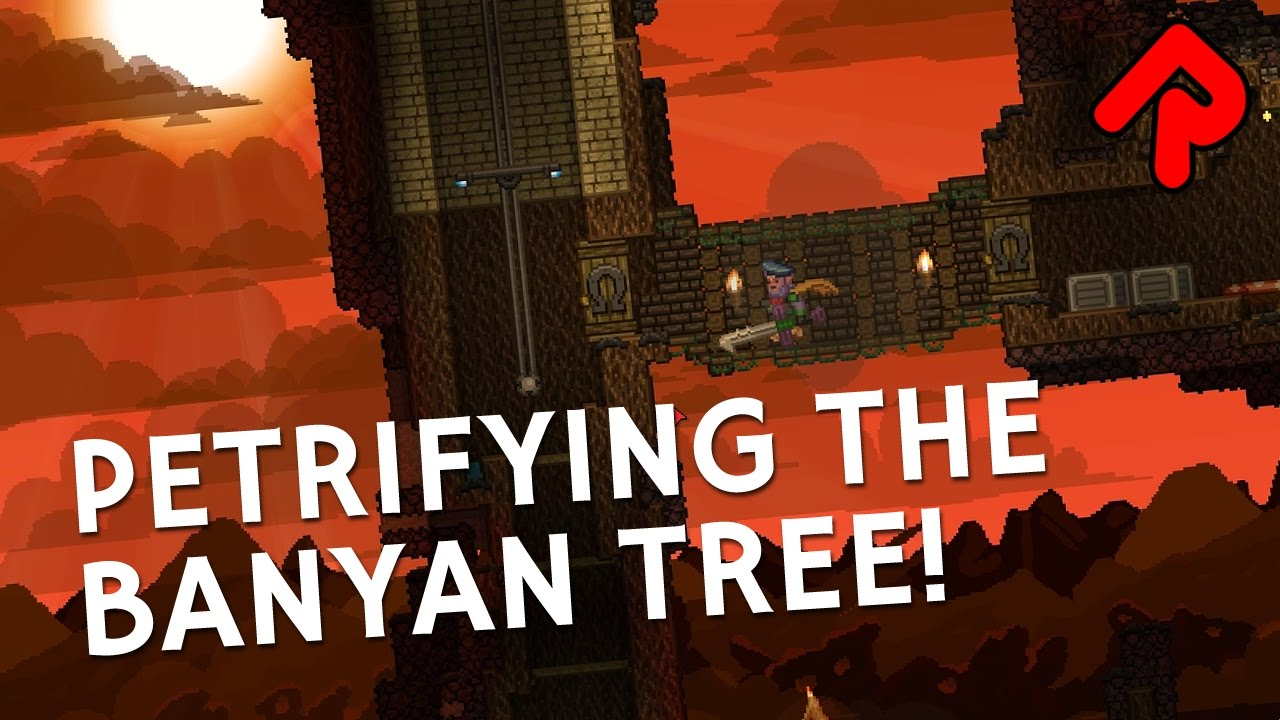 When Starbound Terraforming Goes Wrong: Petrifying the