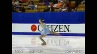 Фигурное катание Yuna Kim   Yuna Spin ( Yuna Camel)(