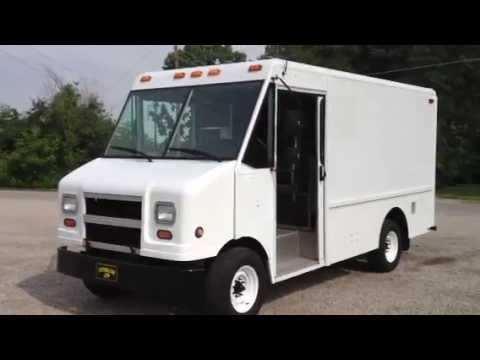 Ford Cargo Van For Sale >> 2004 Ford step van 11 feet of cargo - YouTube