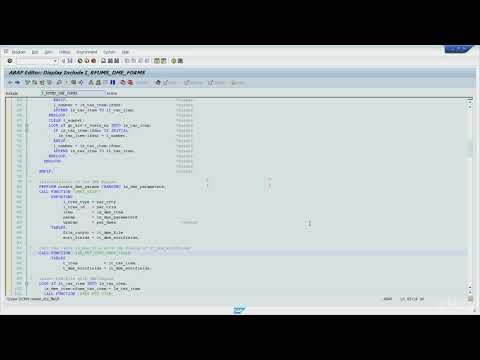 SAP ABAP Debugging for Functional - 07 ABAP commands to