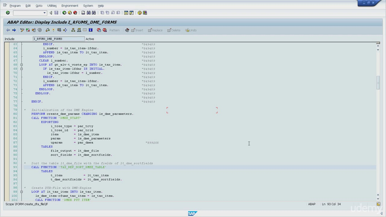 SAP ABAP Debugging for Functional - 07 ABAP commands to handle internal  tables