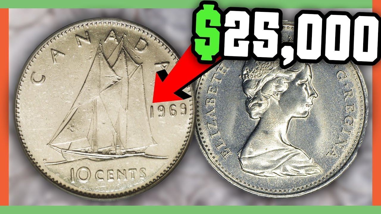 Rare Canadian Dimes Worth Money Valuable Coins In Your Pocket Change