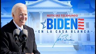 Joe Biden en la Casa Blanca | Noticias Telemundo
