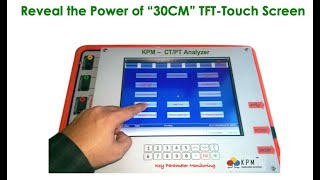 KPM CT PT Analyzer ( https://www.kpmtek.com/ctpt-testing-app )