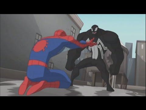 Spectacular Spider-Man - Spidey Defeats Venom