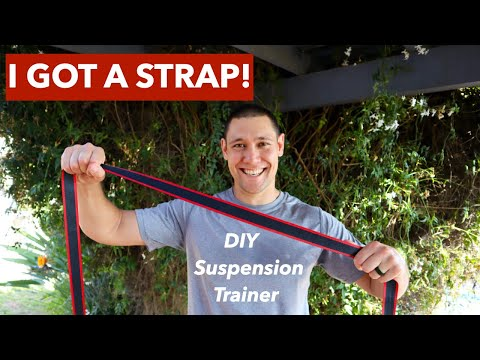 DIY TRX & Best Suspension Training Exercises For a Full Body Workout