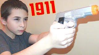 1911 Die Cast Cap Gun and More Cap Guns with Robert-Andre!