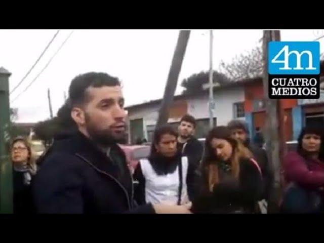 Santiago Maldonado: el profesor Federico Mendoza explica cómo fue increpado por la policía