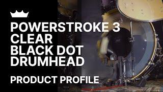 Remo: Powerstroke 3 Black Dot