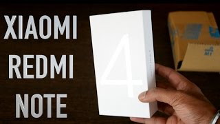 Xiaomi Redmi Note 4(Gold) Unboxing & Review | Higher configuration than Honor 6X?