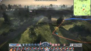 "Napoleon total war, Waterloo Part 3 ""The Guard is sent forth"""