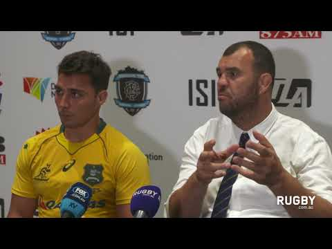 Post match press conference: Wallabies