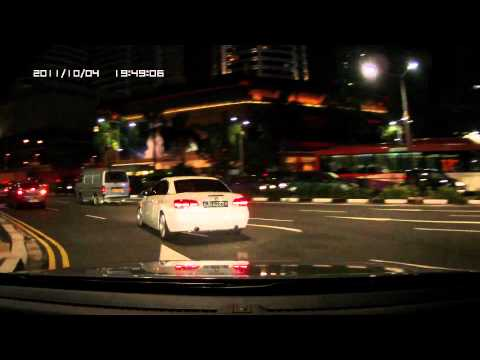 DOD F880LHD Orchard and Scotts Road night scene EV -1.7