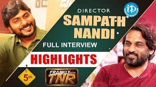 Goutham nanda director sampath nandi interview highlights | frankly with tnr #5 || talking movies