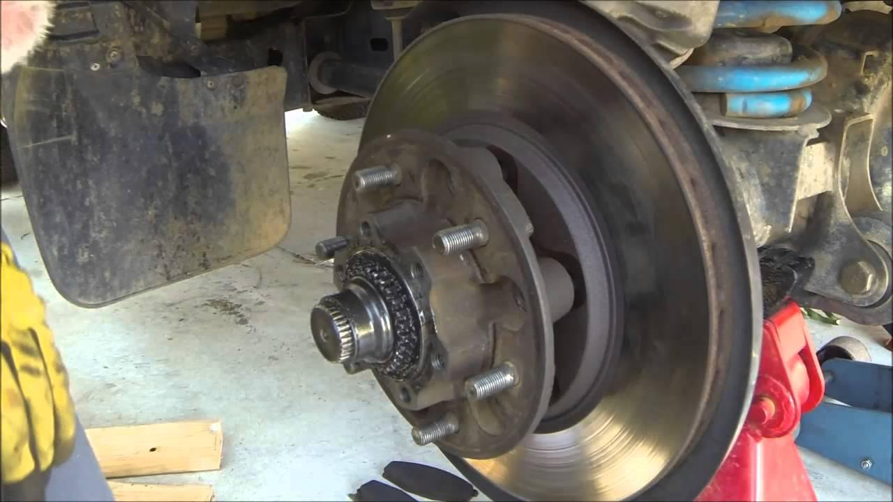 Gq Brake Rotor Removal Youtube