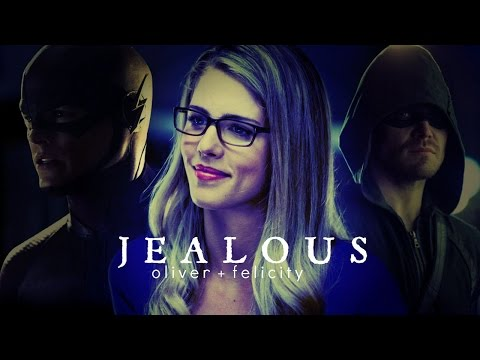 oliver & felicity   jealous (ft. ray/barry/ra's al ghul)