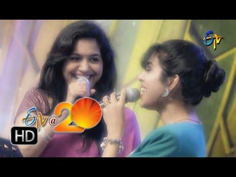Sunitha, Sravana Bhargavi Performance  Yela Yela Song in Tirupathi ETV @ 20 Celebrations