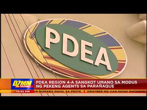 PDEA regional director, agents relieved over extortion