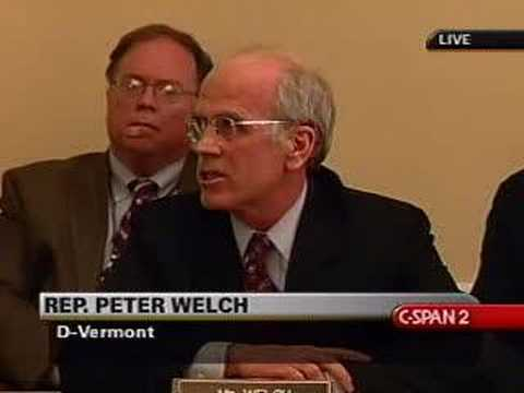 Rep. Peter Welch Speaks on Iraq Resolution