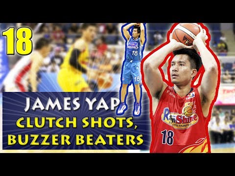 James Yap Clutch Shots, Buzzer Beaters, & Game Winners | Career Highlights