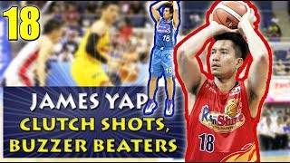James Yap Clutch Shots, Buzzer Beaters, & Game Winners | Career Highlights