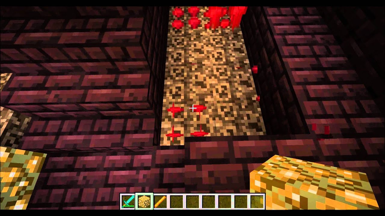 minecraft how to grow nether wart