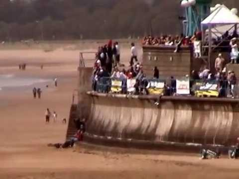 Power boat race in Swansea bay 2008