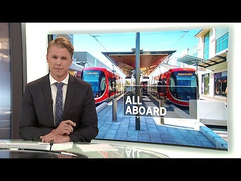 ABC News ACT - Canberra Light Rail Opens (20/4/2019)