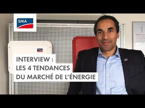 Interview : les 4 tendances du marché de l'énergie