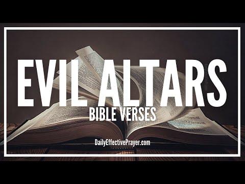 Bible Verses On Evil Altars | Scriptures For Evil Altars (Audio