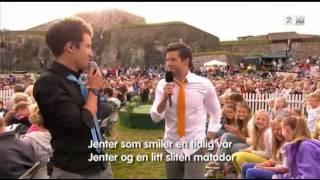Emil og Didrik Solli-Tangen, Jenter (Allsang på Grensen 2012)