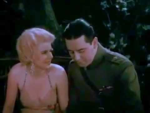 ★ Jean Harlow ★ THE ONLY COLOR FOOTAGE OF HER ★ 1929 ★