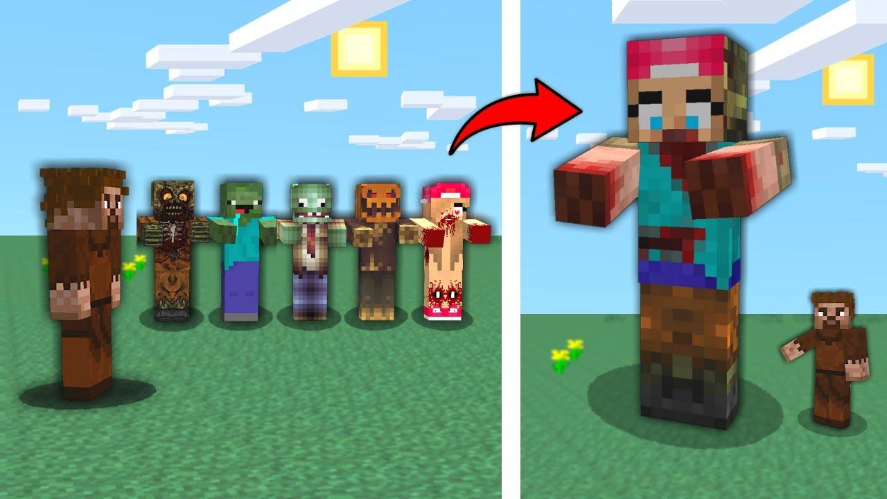 ZOMBİ ÇETESİ BİRLEŞTİ, KOCAMAN OLDU! 😱 - Minecraft