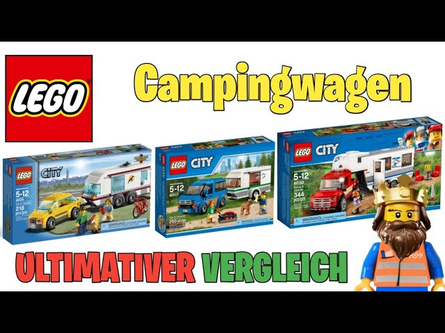 ULTIMATIVER VERGLEICH: LEGO ® CITY Campingwagen
