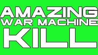 Amazing War Machine Kill (Black Ops II Clip)