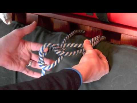 How to tie a Bowline Knot the quick and easy way.