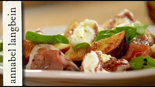 Mozzarella with Figs and Prosciutto