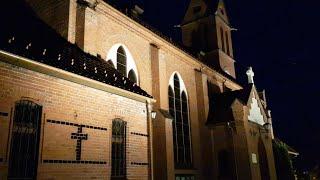 Kościół Świętego Wojciecha wreszcie podświetlony